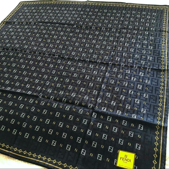 Fendi mini scarf handkerchief FF Monogram bag